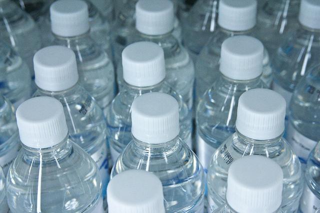 Bouteilles d'eau